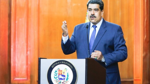 President Maduro announced the decision at a press conference on Monday. (@NicolasMaduro)